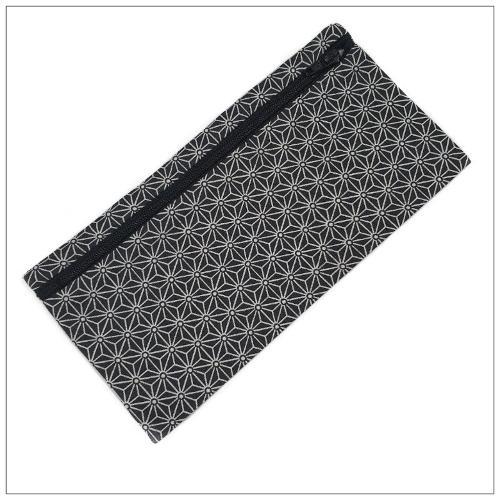 Pochette Pour Masque Géométrique Noir
