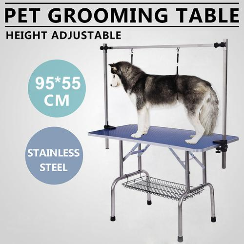 Eco-friendly Stainless Steel Fold-able Dog Grooming Table