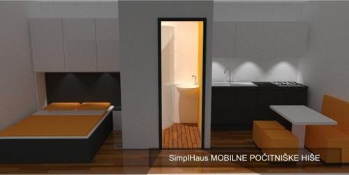 Mobilna hiša 300x600 interier