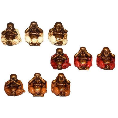Set 3 Budas Sabios Ver Oir Y Callar (precio Por Set De 3)