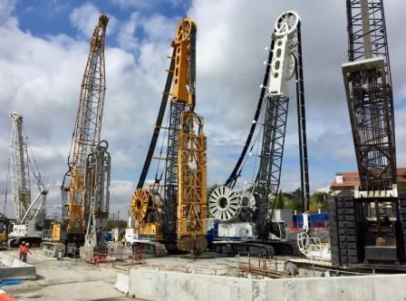 Plus de 40 techniques différentes en fondations profondes