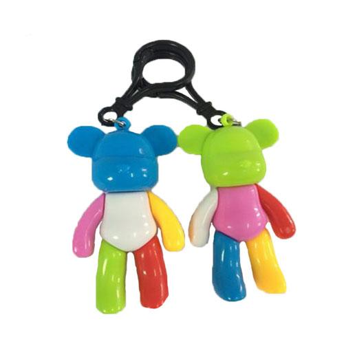 Custom made promotional best selling Bear key chain for sale with Carabiner