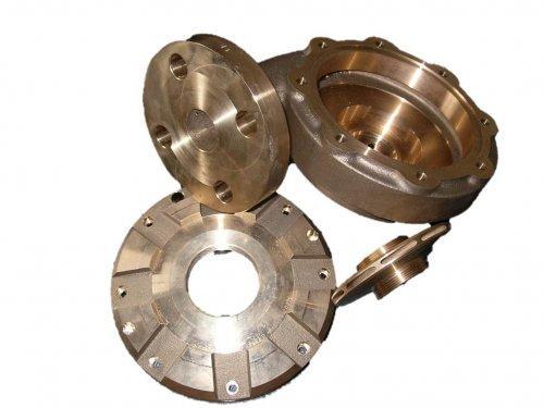 Corps de pompe, roue de pompe, couvercle