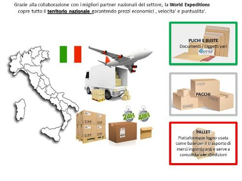Spedire in Italia