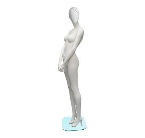 Design Abstract Face Standing Pose Female