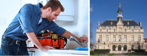 Dépannage plombier à La Courneuve (93120)