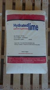 Hydrated lime (calcium Hydroxide)