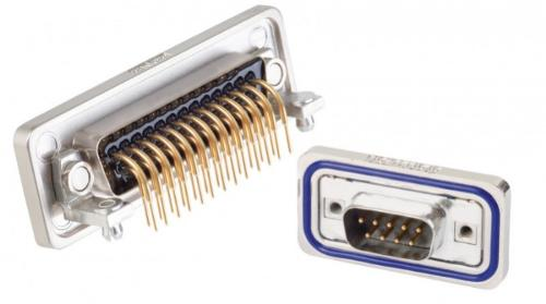 IP67 D-SUB Connectors Standard/High Density