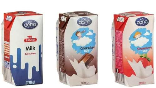 Aromatisierte H-Milch