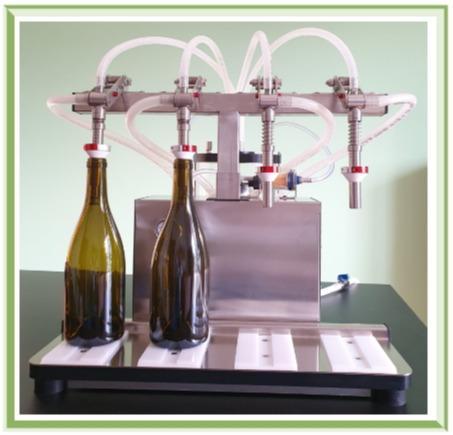 Riempitrice semiautomatica mod Ultrafill 2-4