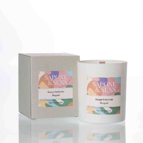 Bougie parfumée Muguet