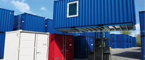 Lagercontainer und Materialcontainer
