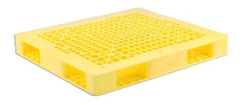 industrial plastic pallet 1300x1100x150