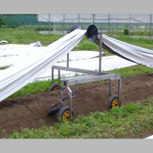 Carrello agevolatore per raccolta asparago