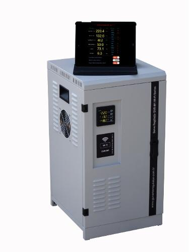 Voltage Stabilizer Controlled via WiFi