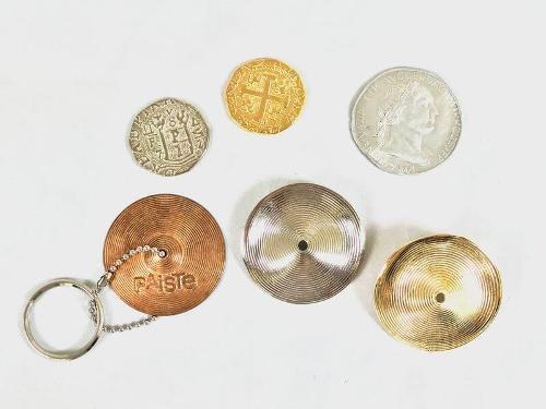 Souvenirs en métal