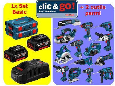 Clic & Go 18 V Bosch