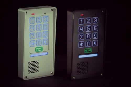 Domofon jednorodzinny z szyfratorem
