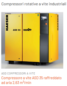 Compressori potenti da 18 kw