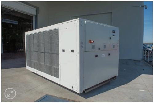 refrigeratori condensati ad aria 140 kW A 570 kW