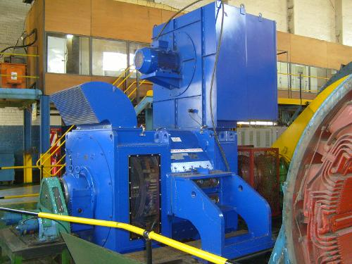 Dc-motor For Mine Winder