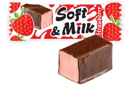 "Candy ""Soft &Milk Strawberry"""