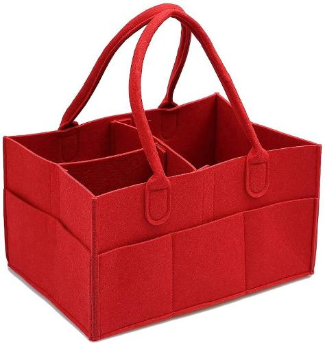 Foldable Felt Storage Baby Diaper Bag, Amazon Manufacturer