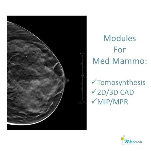 Modules de Tomosynthèse - CAD - MIP/MPR