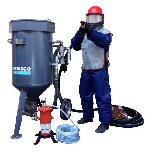 Sandstrahlgerät Spezial - Set mit CLEMCO Ausrüstung