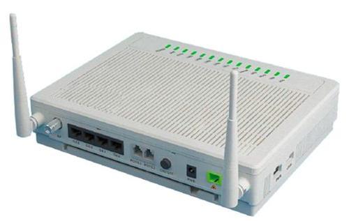 GPON ONU 4GE+2POTS+CATV+WIFI fiber optic terminal equipment