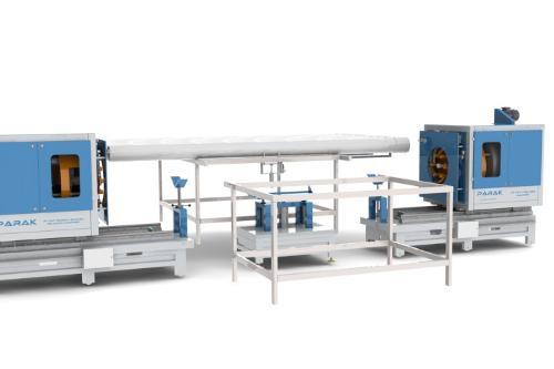 DA PVC THREADING MACHINE