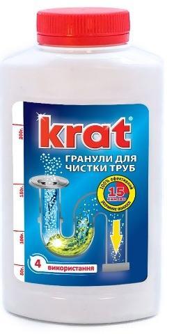 """Средство для чистки труб ТМ """"KRAT"""""""