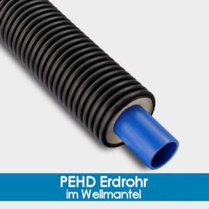 PEHD Underground Tube - covered