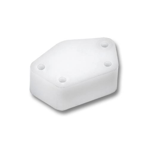 NiroSan® Spacer for wall plate 9472g