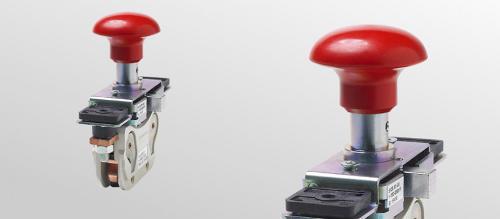 Notabschalter für Spannungen bis 320 Volt DC