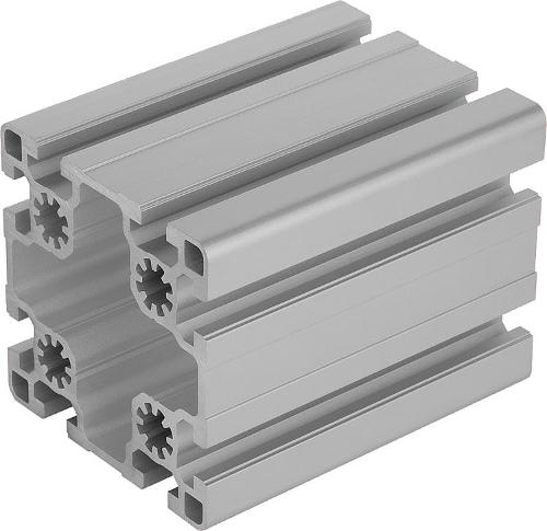 Profilés Aluminium 90x90 Légers Type B