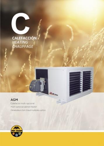 Procesos de secado industriales de 43 a 145 kW - AGM