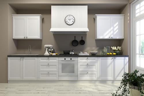 Classic kitchen with London-style fronts