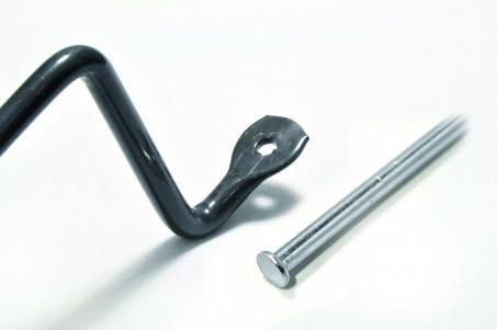 bouterollage de pièces en fil métallique