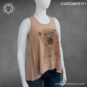 camiseta 100% algodon organico