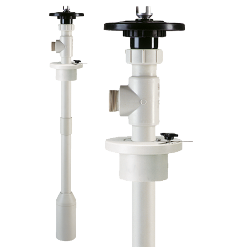 Pump tube vertical container pump B50