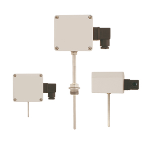 Temperature sensors with transmitter