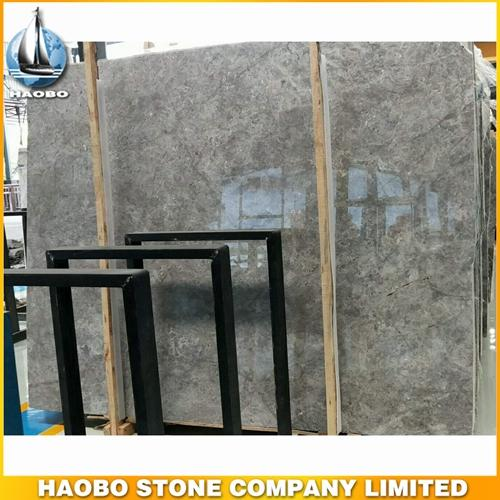 Dora Cloud Grey Marble Slab Available In 1.8CM & 3CM
