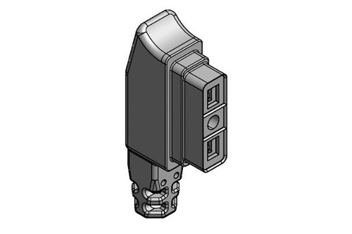 Connettore per valvole gas modulari