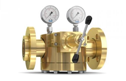 Dome Pressure Regulator 757LE/S, complete solution