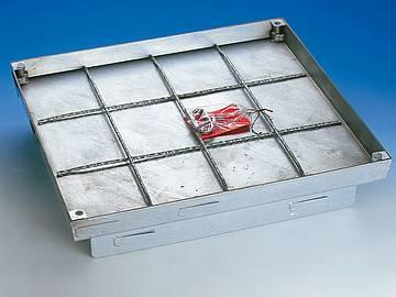 BVS-400 steel galvanised Extra heavy duty, sealed cover