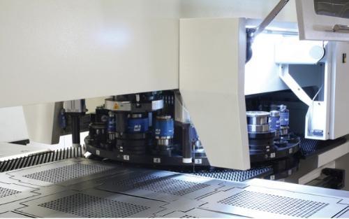 CNC Punch cutting