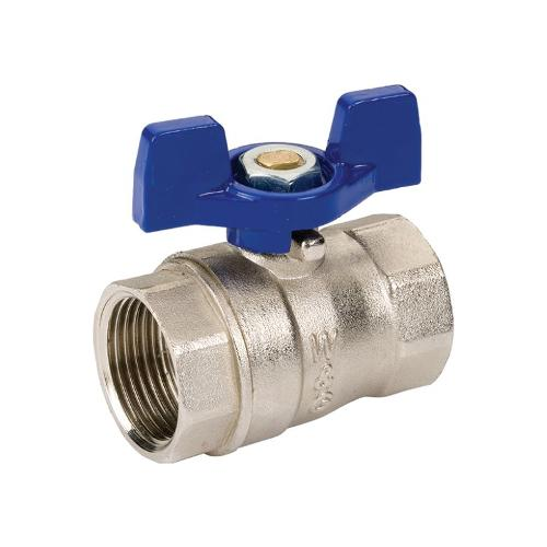 Ball Valve With Butterfly Handle