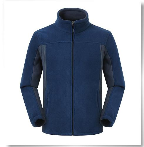 Polar fleece zipper jacket