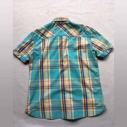 Chemise manches courtes pour hommes